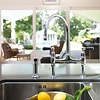 Perrin & Rowe Traditional Kitchen bridge mixer Ionian  E.4173 with rinse