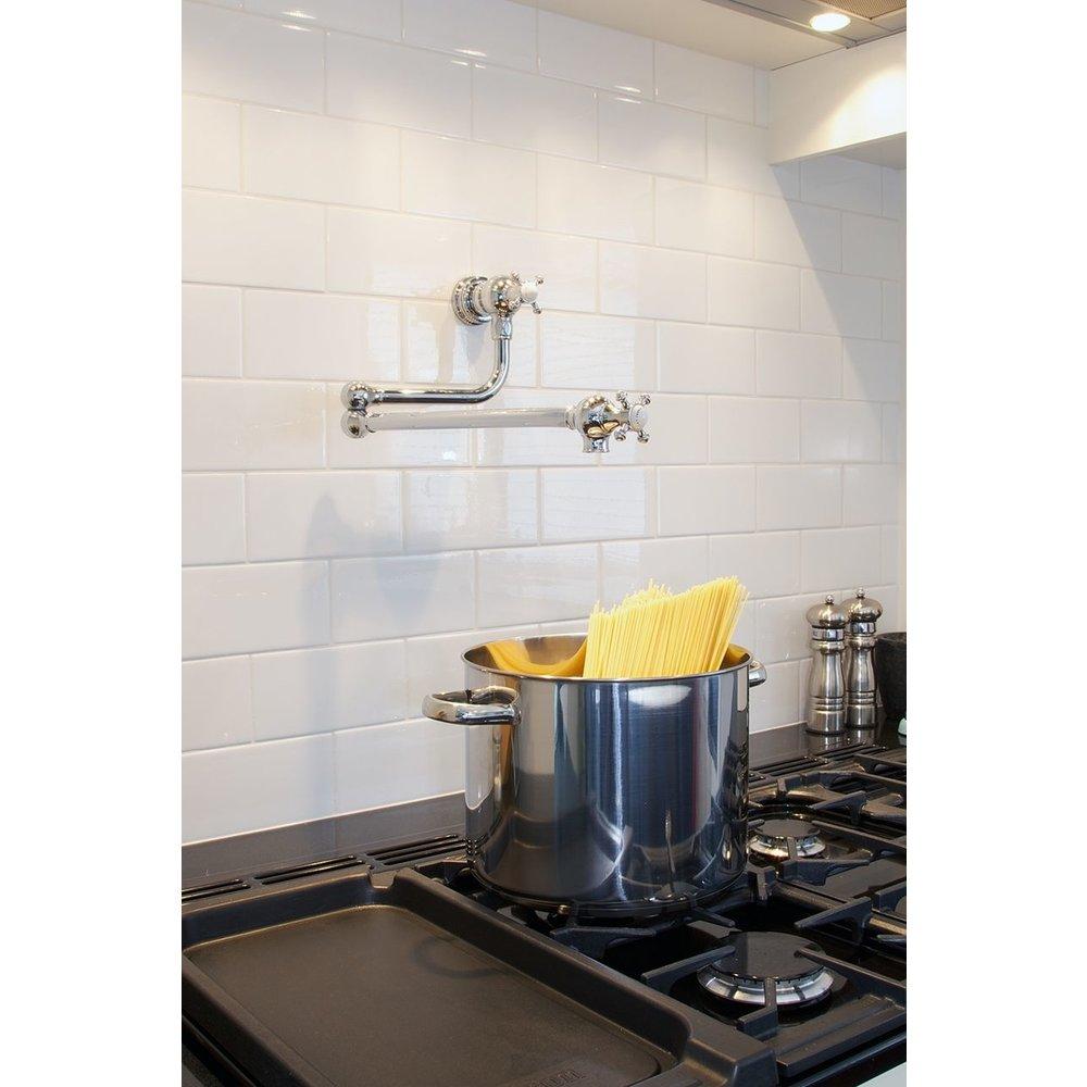 Perrin & Rowe Country Kitchen mixer Pot Filler E.4798