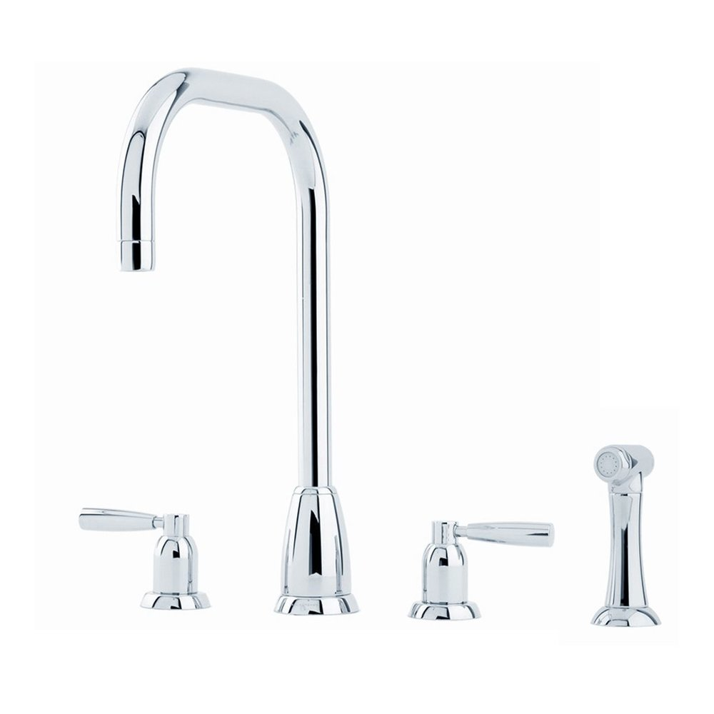 Perrin & Rowe Contemporary Kitchen mixer Callisto E.4893 U-spout  with rinse
