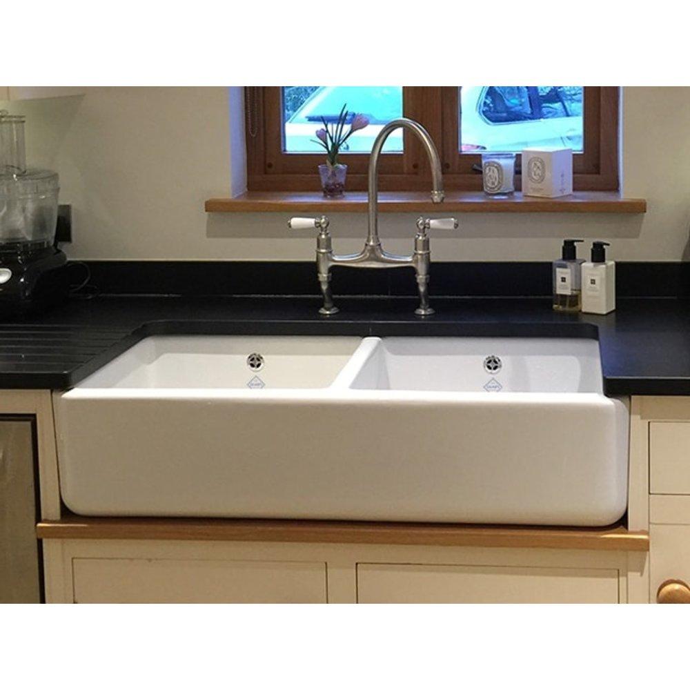 Shaws Kitchen sink Double Bowl 1000