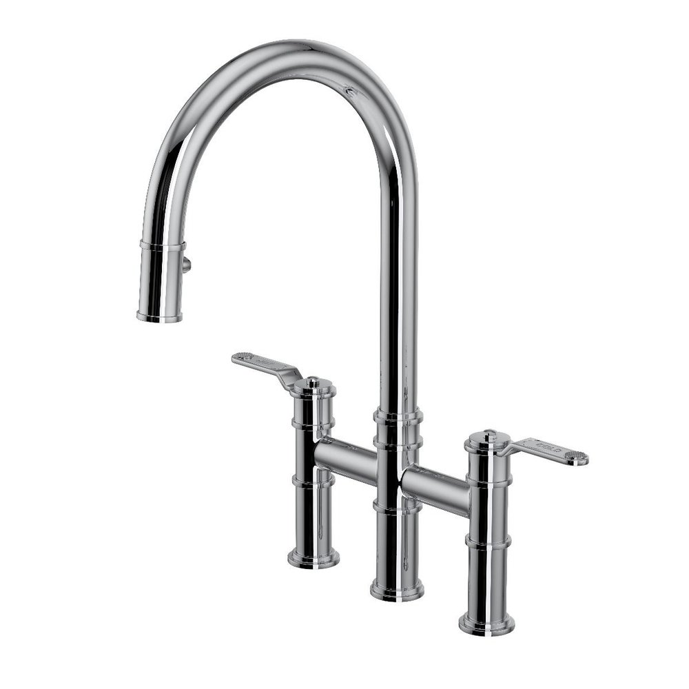 Perrin & Rowe Armstrong Keukenkraan Armstrong E.4549 met Pull-down douche