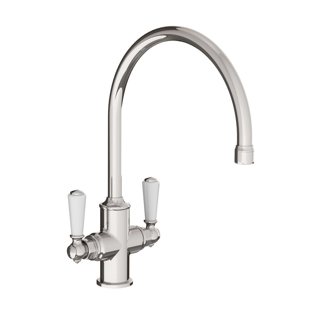 Lefroy Brooks 1900 Classic Kitchen mixer Classic White Lever WL1550