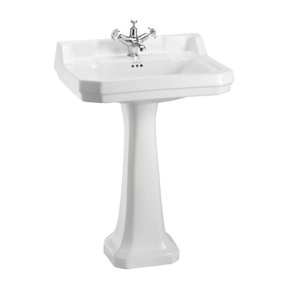 BB Edwardian Edwardian 61cm basin with pedestal