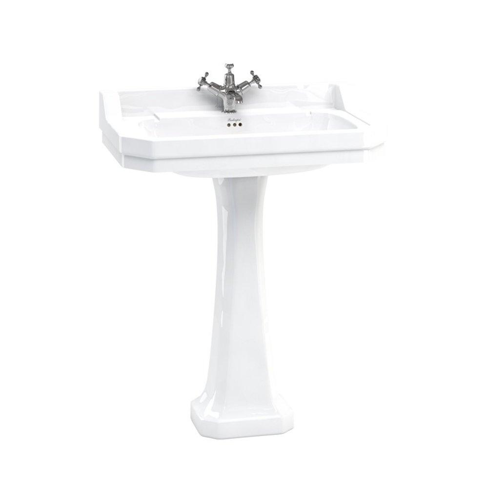 BB Edwardian Edwardian 80cm basin with pedestal