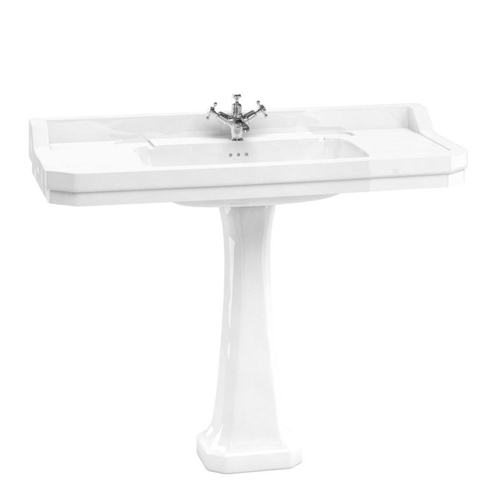 BB Edwardian Edwardian 120cm basin with pedestal