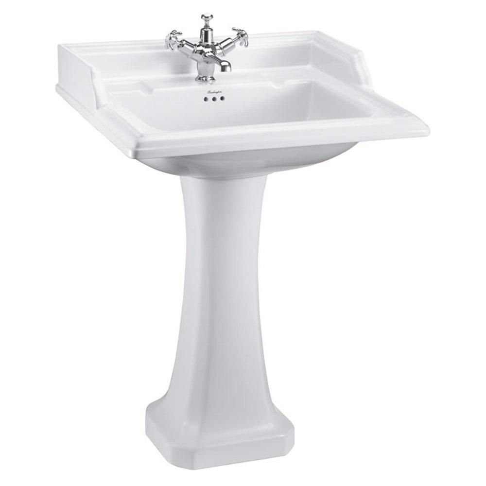 BB Edwardian Classic 65cm basin with pedestal
