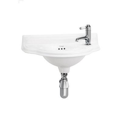 Handwaschbecken halbrund