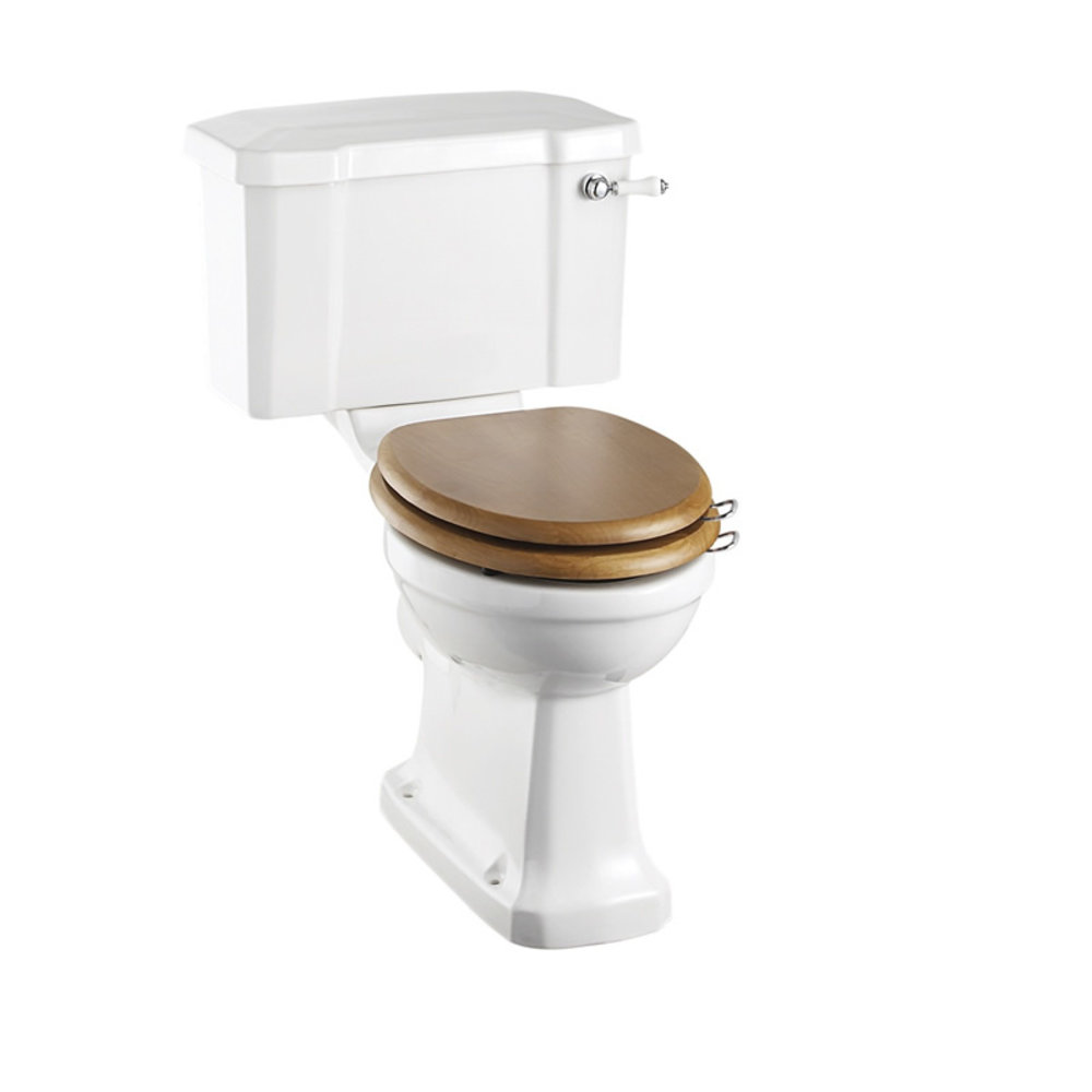 BB Edwardian Close coupled toilet with cistern - p-trap