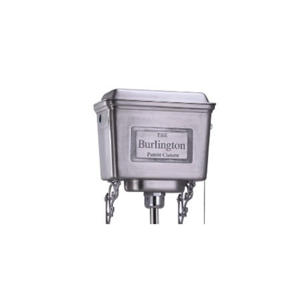 BB Edwardian Low level toilet (p-trap) with aluminium cistern