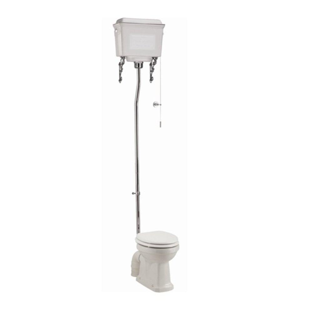 BB Edwardian Hooghang toilet (PK) met aluminium reservoir