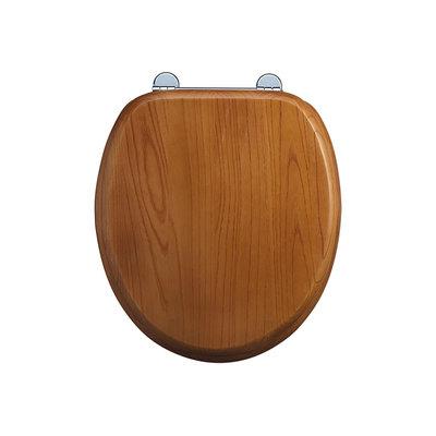Oak toilet seat soft-close S16