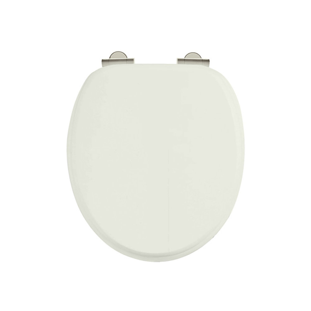 Burlington Soft close sand toilet seat