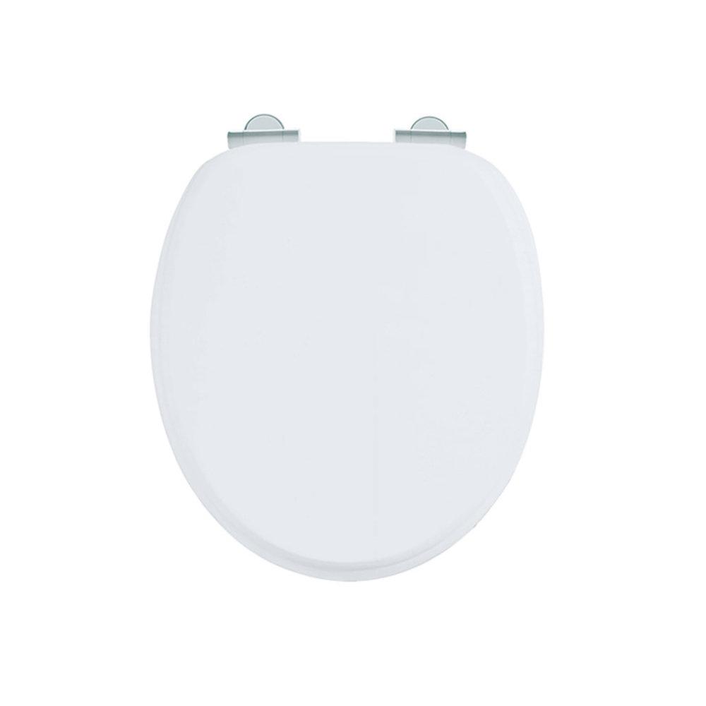 Burlington Soft close Matt White toilet seat