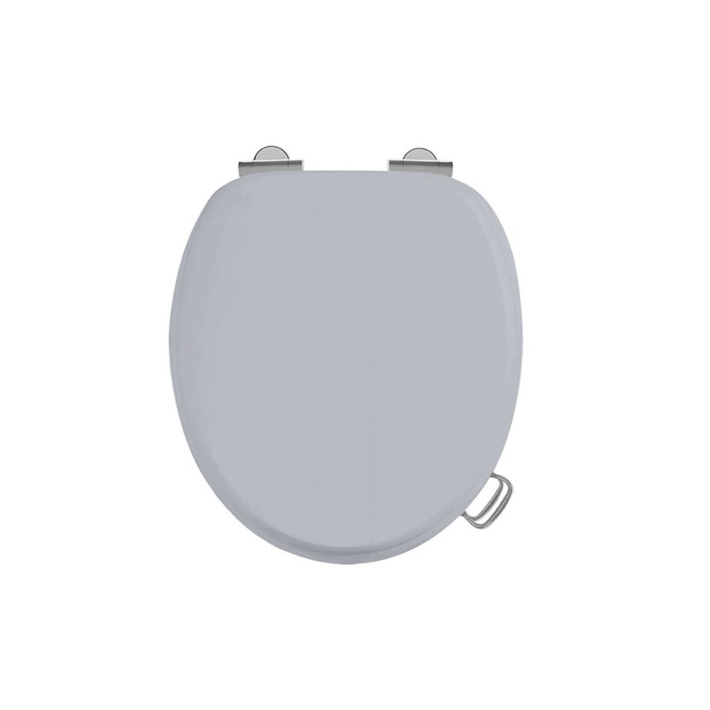 Burlington Soft close Classic Grey toilet seat
