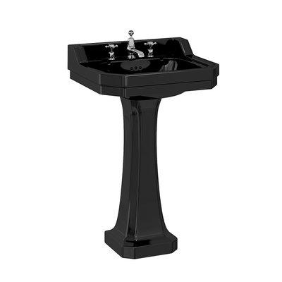 Edwardian 56cm Black with pedestal