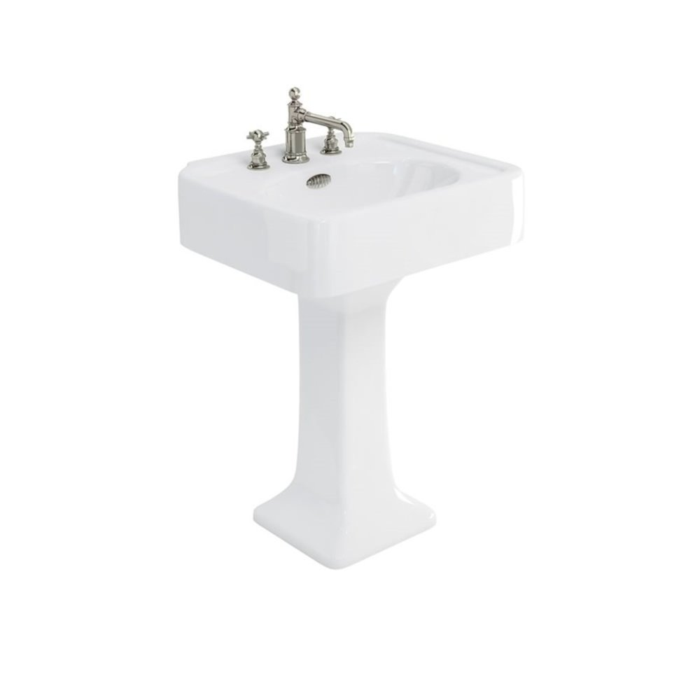 BB Arcade Arcade 600mm basin with pedestal