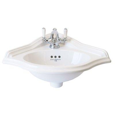 PR corner cloakroom basin