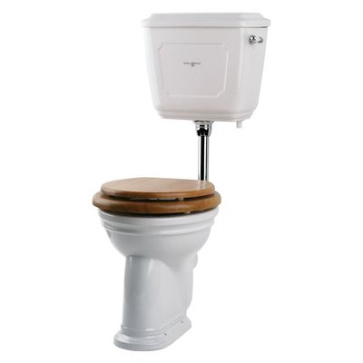 Victorian Low level WC with ceramic cistern