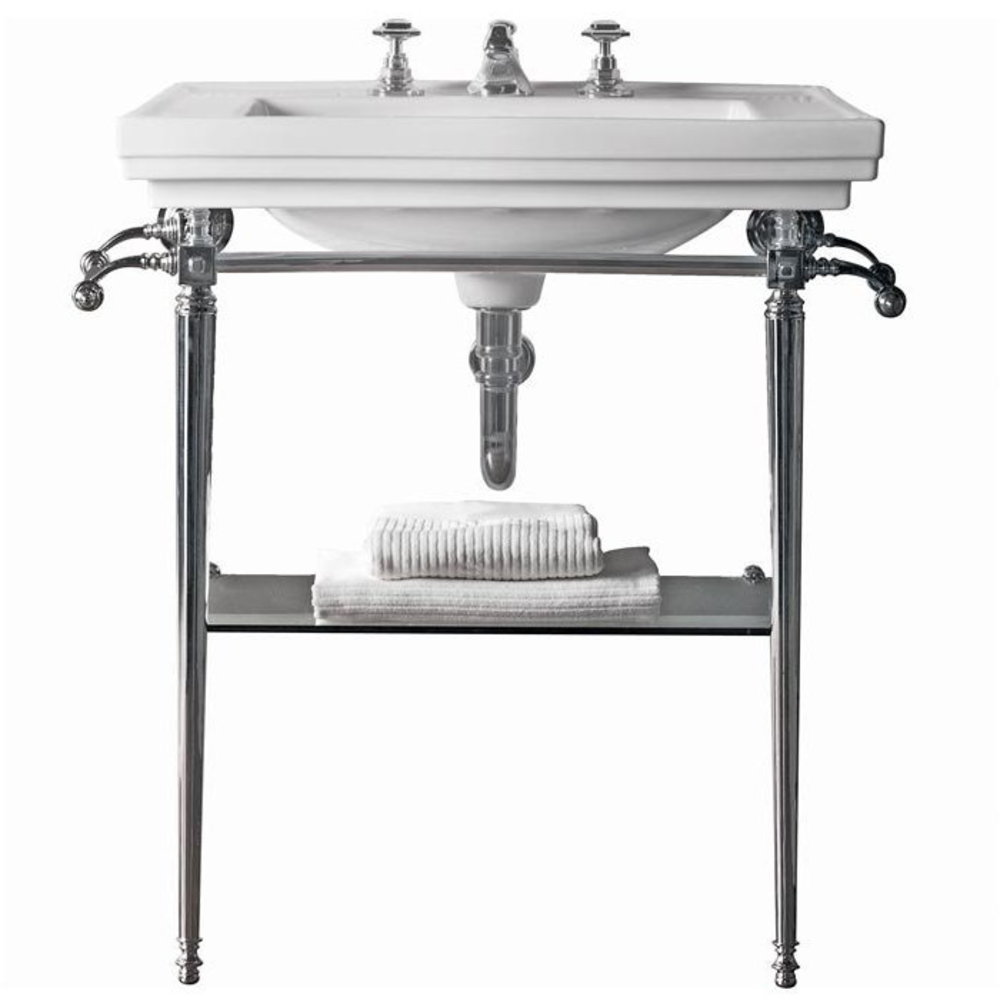 Imperial Imperial Deco 64cm basin with metal stand