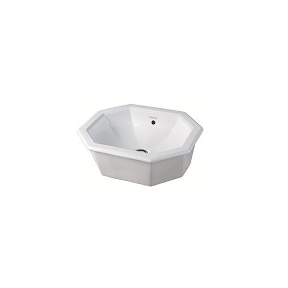 Imperial Imperial Deco white inset basin