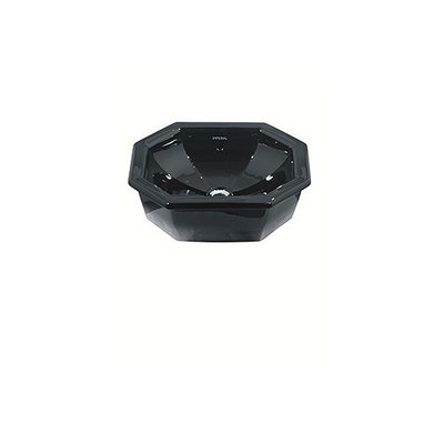 Deco Inset basin black