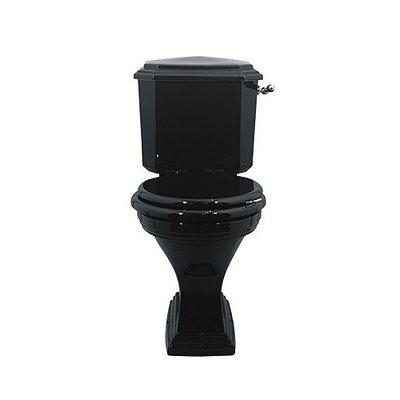Deco Black Close coupled toilet AO