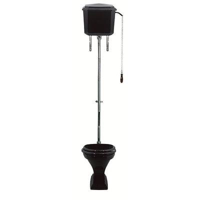 Deco Black hooghang toilet met reservoir AO