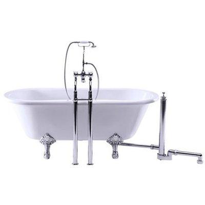 Kensington vrijstaande badmengkraan met douche