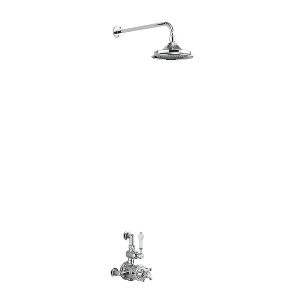 BB Edwardian Avon Exposed thermostatic shower valve with rose