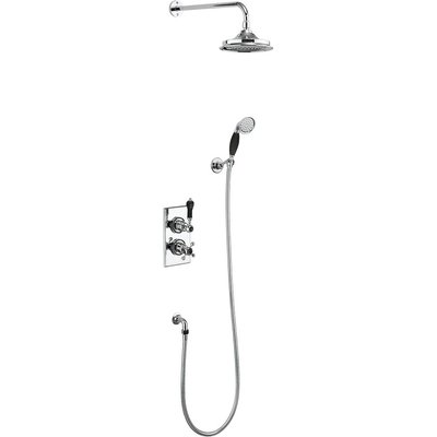 Shower set TRENT 3 Black
