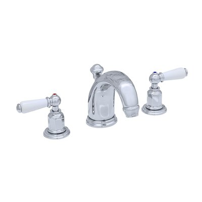 Victorian White 3-hole basin mixer E.3700