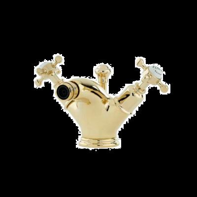 Victorian White 1-hole bidet mixer E.3676