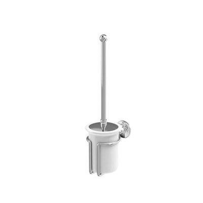 Edwardian toiletborstel houder wand A8