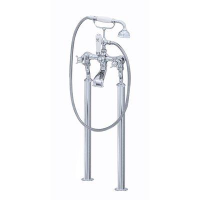 Victorian White freestanding bath shower mixer E.3521/1