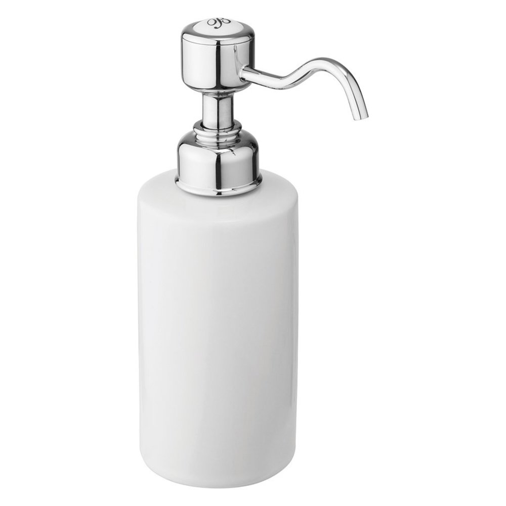BB Edwardian Edwardian inbouw zeepdispenser voor wastafel