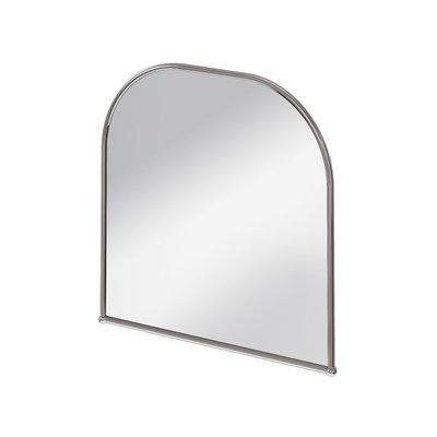 Edwardian spiegel met boog 70x70cm A38