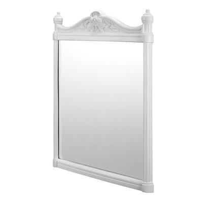 Georgian Spiegel mit Rahmen - Aluminium weiss 55x75cm T42