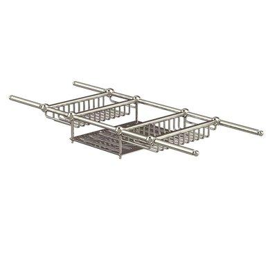Arcade Brass Bath Rack extendable ARCA27