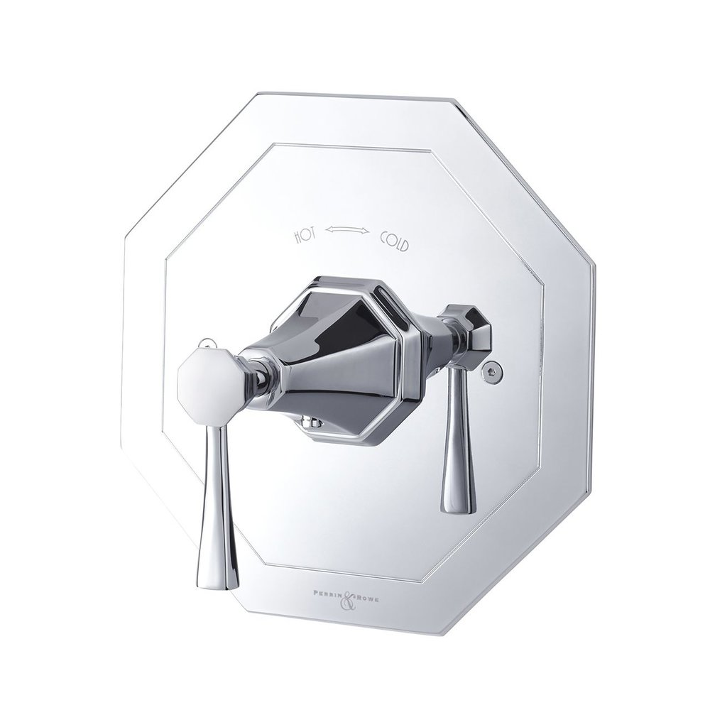 Perrin & Rowe Deco Deco Concealed shower thermo with lever E.5157