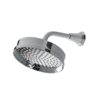 """Perrin & Rowe Deco Deco 180mm  overhead shower arm with 8"""" (20cm)  shower rose"""