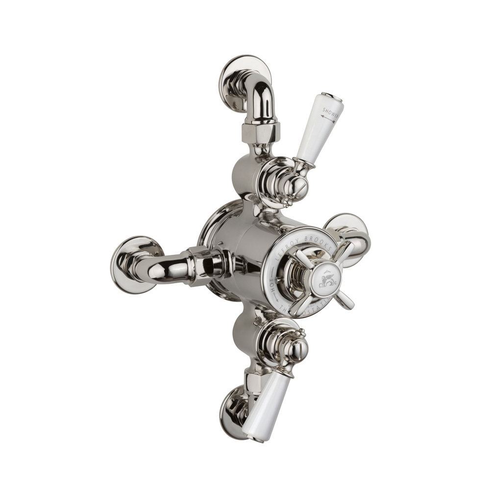Lefroy Brooks 1900 Classic LB1900 Classic  exposed dual control thermostatic shower valve GDE-8746