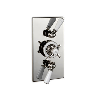 Classic concealed dual thermostatic shower valve GD8736