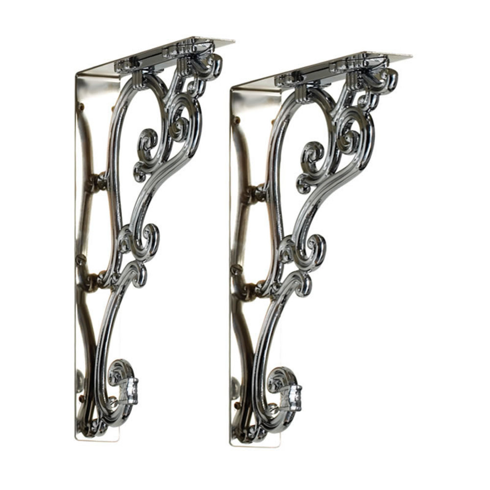 BB Edwardian Edwardian pair of Ornate Brackets