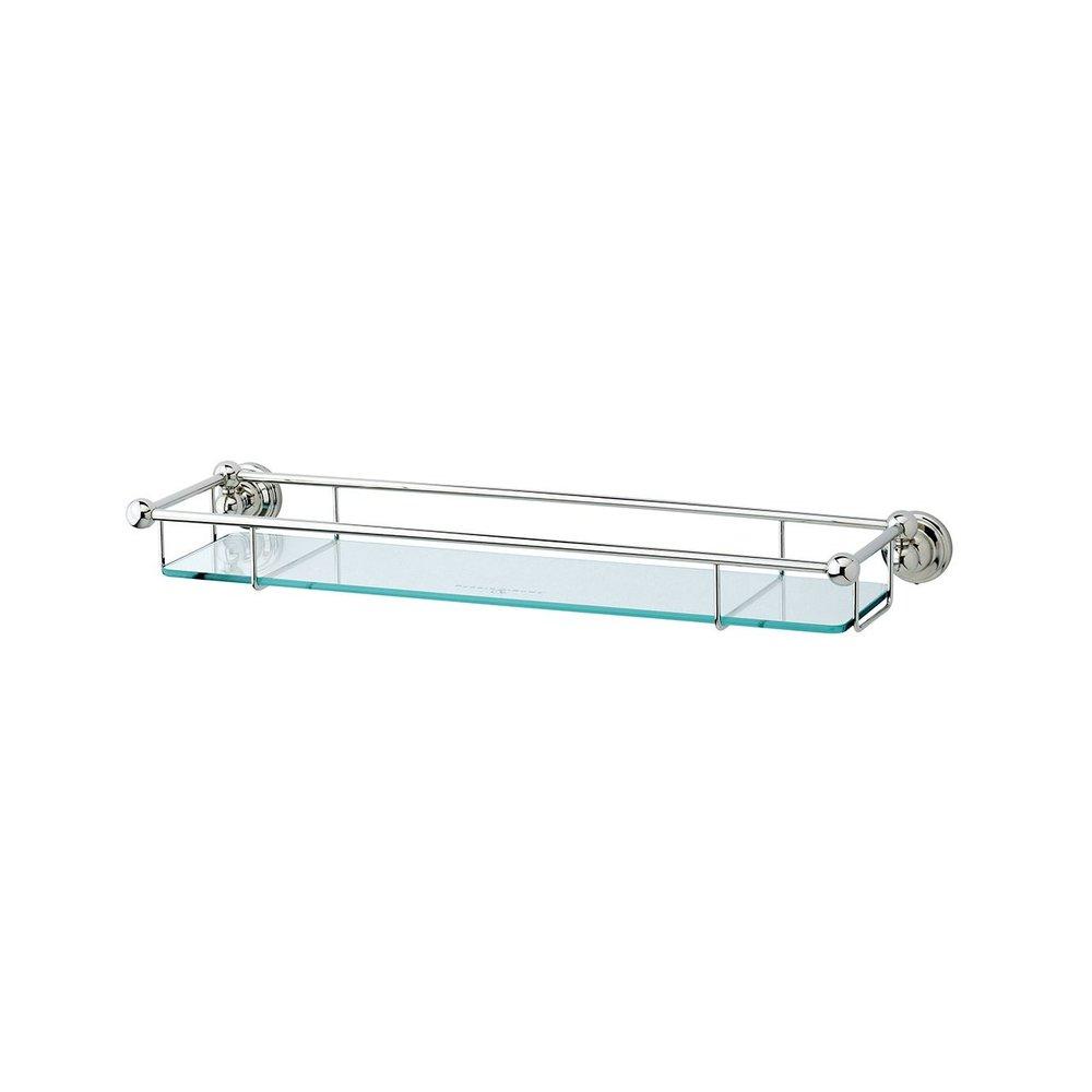 "Perrin & Rowe Victorian PR Victorian 20"" glass shelf"