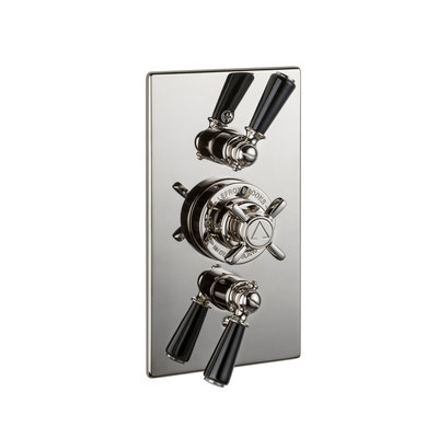 Classic Unterputz-Duschthermostat mit Absperrventilen BL8736