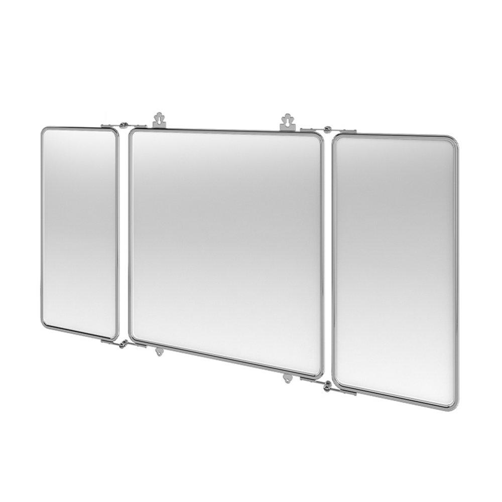 BB Arcade Arcade 3-delige spiegel met metalen lijst