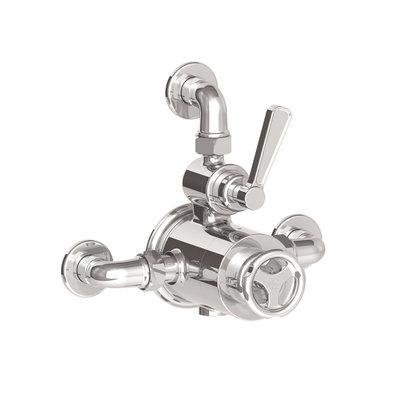 TenTen Aufputz-Duschthermostat mit Absperrventil TTE8725