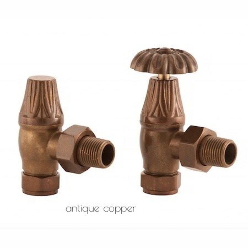 Arroll Manual radiator valve set UK-10