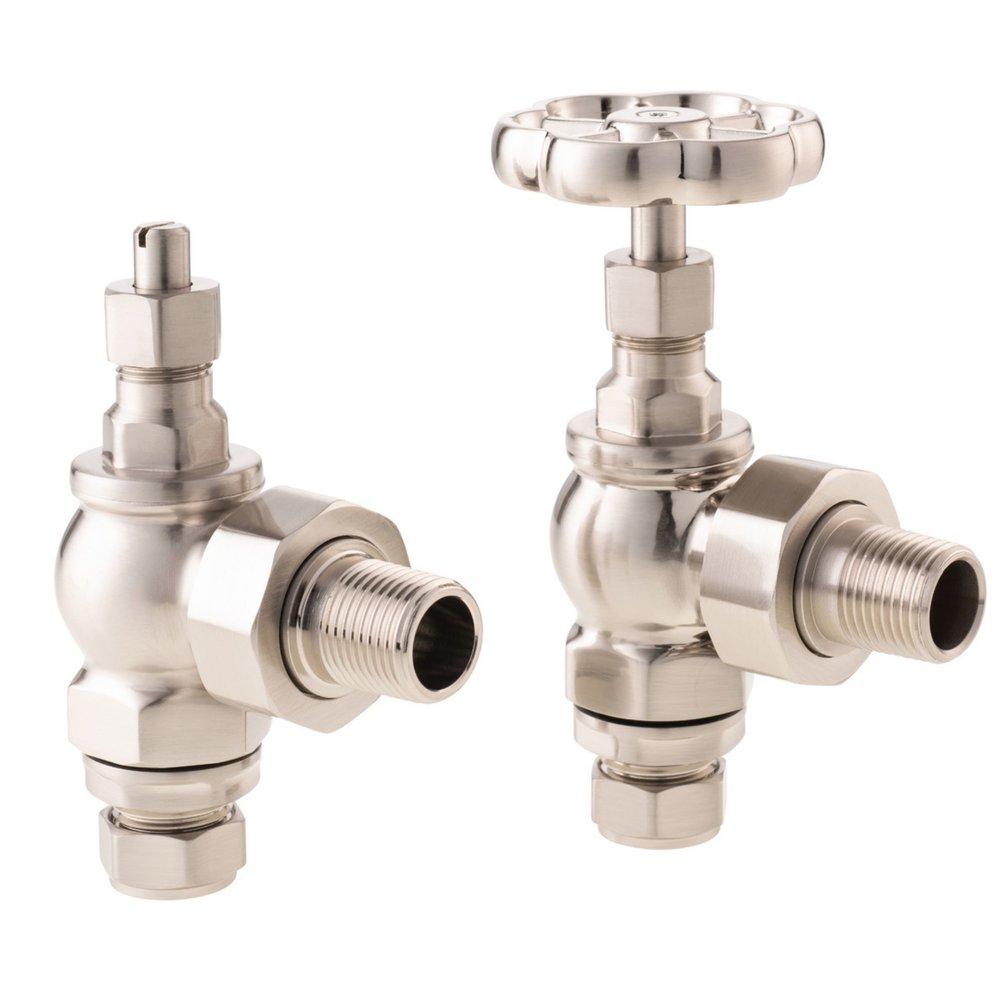 Arroll Manual radiator valve set UK-16