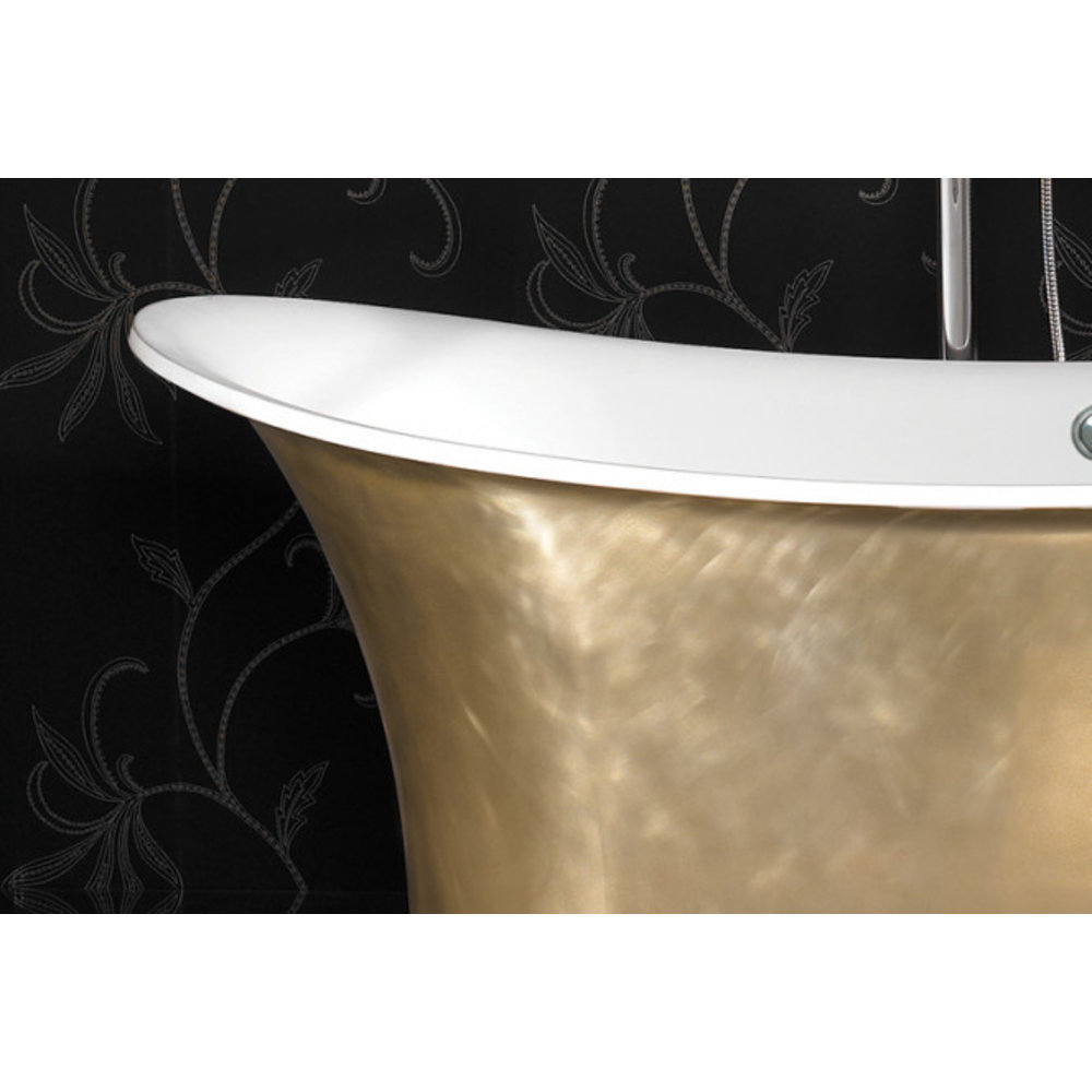 Ashton & Bentley A&B vrijstaand bad Aegean 1700 Metallic BG - gloss brass